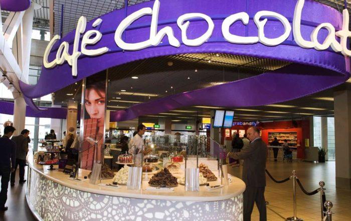 My Mask Chocolate - Café Chocolat, Schiphol, Amsterdam