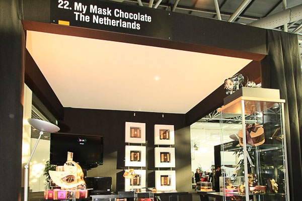 My Mask Chocolate at Luxury Lifestyle Exhibition Monaco