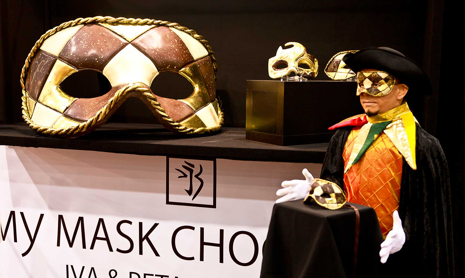 My Mask Chocolate at Salon Du Chocolat Marseille