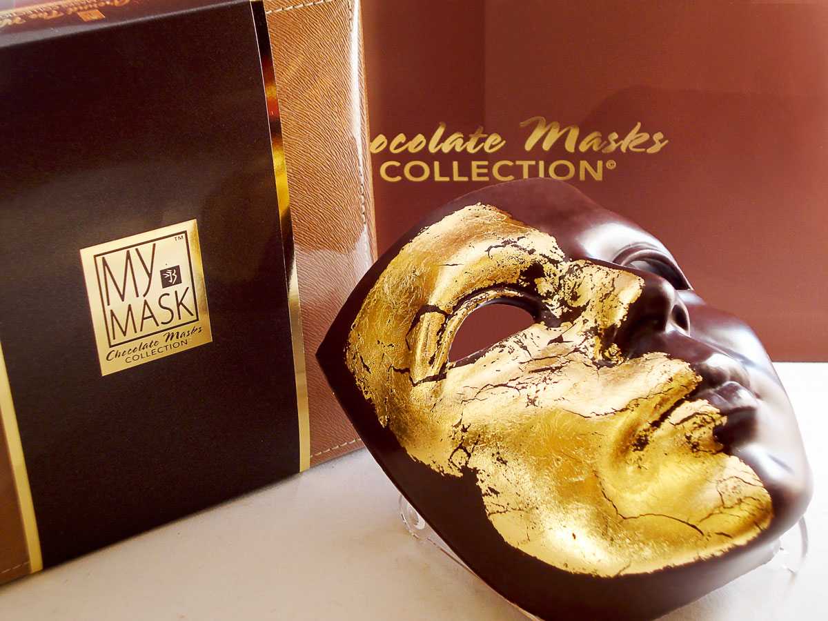 My Mask Chocolate Collection - Gold Mask