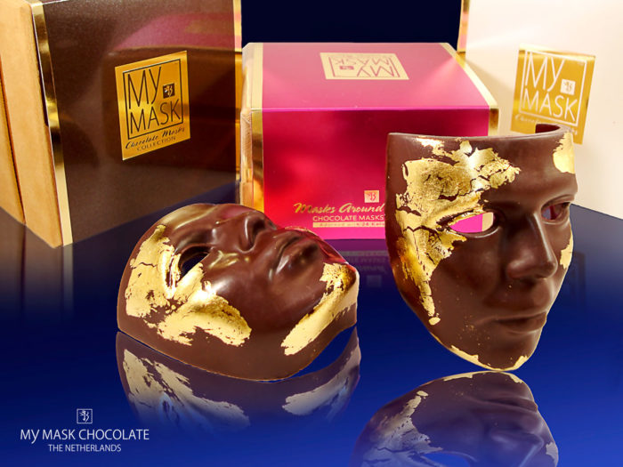 My Mask Chocolate Collection - Le Petit Bijou - Luxury handmade chocolate