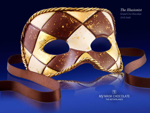 My Mask Chocolate Collection - The Ilusionist