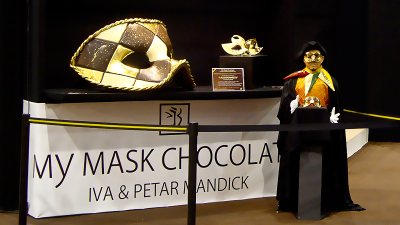 My Mask Chocolate - Big Chocolate Mask made by Iva & Petar